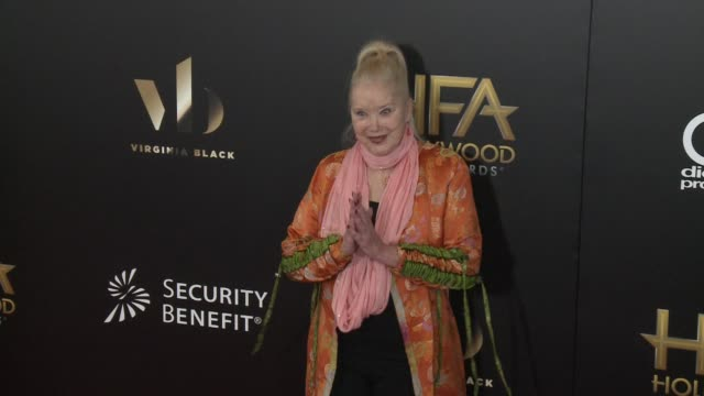 sally kirkland at 20th annual hollywood film awards at the beverly hilton hotel on november 06 2016 in beverly hills california - sally kirkland stock videos & royalty-free footage