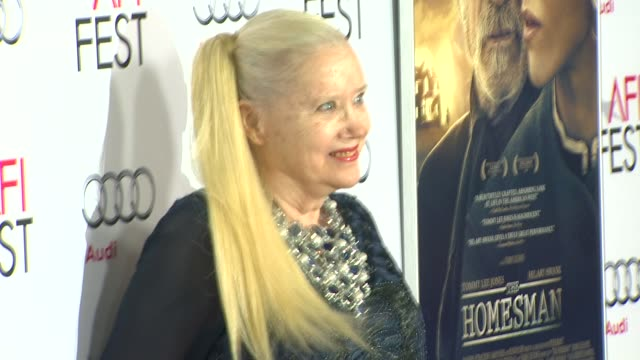 sally kirkland at afi fest 2014 presented by audi the homesman premiere at dolby theatre on november 11 2014 in hollywood california - sally kirkland stock videos & royalty-free footage