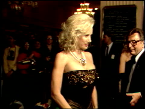 sally kirkland at the 1989 golden globe awards at the beverly hilton in beverly hills california on january 28 1989 - sally kirkland stock videos & royalty-free footage