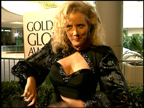 sally kirkland at the 1997 golden globe awards at the beverly hilton in beverly hills california on january 19 1997 - sally kirkland stock videos & royalty-free footage