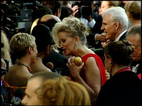 sally kirkland at the 1999 academy awards at the shrine auditorium in los angeles california on march 21 1999 - sally kirkland stock videos & royalty-free footage