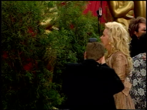 sally kirkland at the 2002 academy awards at the kodak theatre in hollywood california on march 24 2002 - sally kirkland stock videos & royalty-free footage