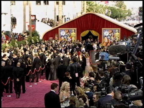 sally kirkland at the 2004 academy awards arrivals at the kodak theatre in hollywood california on february 29 2004 - sally kirkland stock videos & royalty-free footage