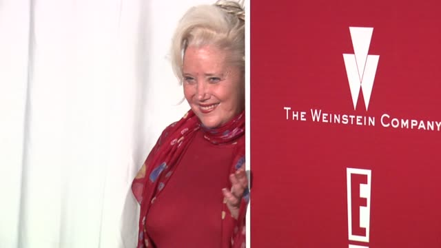 sally kirkland at the 2006 weinstein company preoscar party at the pacific design center in west hollywood california on march 4 2006 - sally kirkland stock videos and b-roll footage
