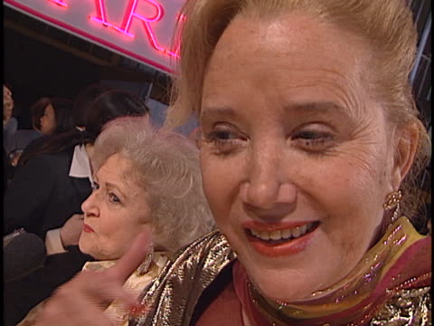 sally kirkland at the american comedy awards at shrine - sally kirkland stock videos & royalty-free footage
