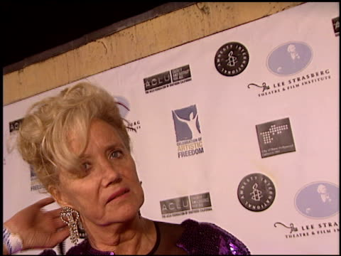 sally kirkland at the artistic freedom oscar party at ago in west hollywood california on february 27 2005 - sally kirkland stock videos & royalty-free footage