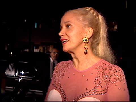 sally kirkland at the 'casino' premiere at academy theater in beverly hills california on november 16 1995 - sally kirkland stock videos & royalty-free footage