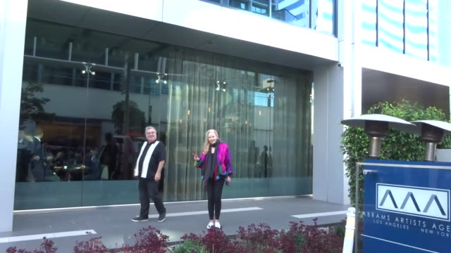 sally kirkland outside boa steakhouse in west hollywood at celebrity sightings in los angeles on january 04 2020 in los angeles california - sally kirkland stock videos & royalty-free footage