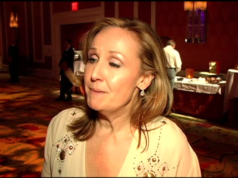 Sally Morrison Interview at the Diamond Trading Company In Style Party Benefiting YouthAIDS Performance By Wynonna Judd at the Wynn Hotel in Las...