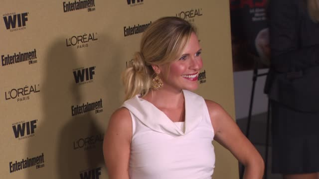 sally pressman at the entertainment weekly and women in film preemmy party at west hollywood ca - pre emmy party stock videos & royalty-free footage