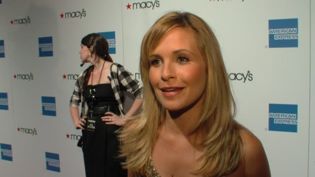 Sally Pressman of 'Army Wives' on the event at the 27th Annual Macy's Passport Fashion Show Benefit at Santa Monica CA
