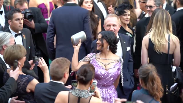 salma hayek and françois-henri pinault at dolby theatre on march 04, 2018 in hollywood, california. - the dolby theatre stock videos & royalty-free footage