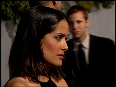 Salma Hayek at the 'Dogma' Premiere at Harmony Gold Theater in Hollywood California on November 9 1999
