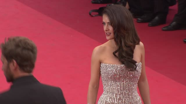 Salma Hayek at the Opening Night Midnight in Paris Premiere 64th Cannes Film Festival at Cannes