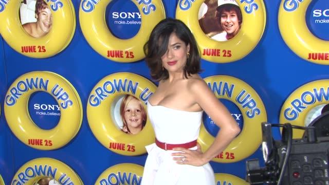 salma hayek at the special screening of 'grown ups' at new york ny. - salma hayek stock videos & royalty-free footage