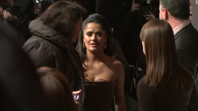 stockvideo's en b-roll-footage met salma hayek at the the 2008 national board of review of motion pictures awards gala at new york ny - salma hayek