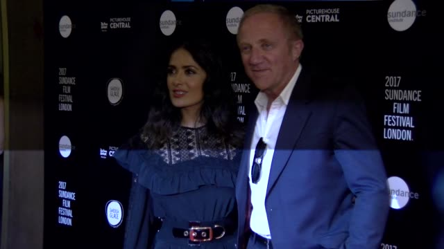 Salma Hayek FrancoisHenri Pinault at Picturehouse Central on June 01 2017 in London England