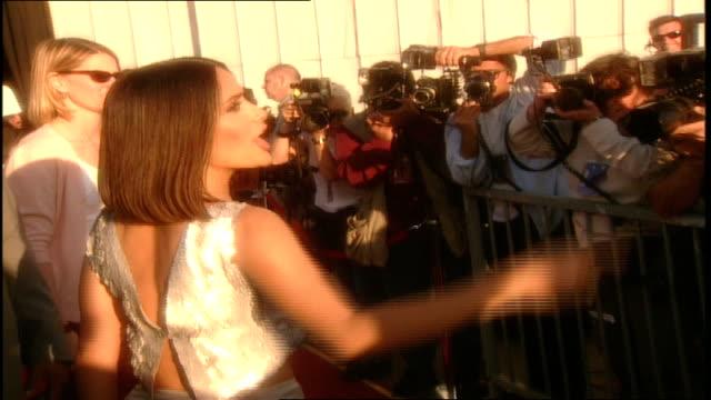 Salma Hayek MTV Movie Awards Red Carpet in Santa Monica California