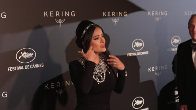 Salma Hayek Pinault at Kering Women in Motion Party The 72nd Cannes Film Festival on May 19 2019 in Cannes France