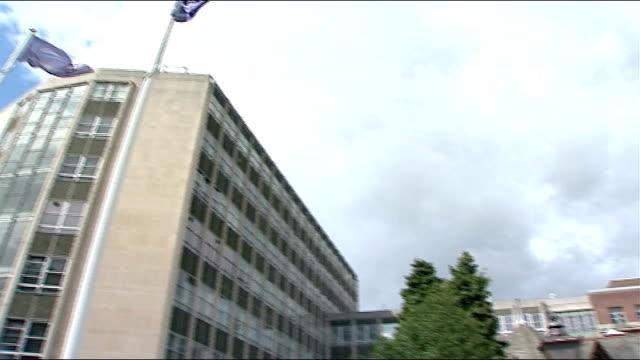 cadbury apologises; england: bourneville: ext reporter to camera - salmonella stock videos & royalty-free footage