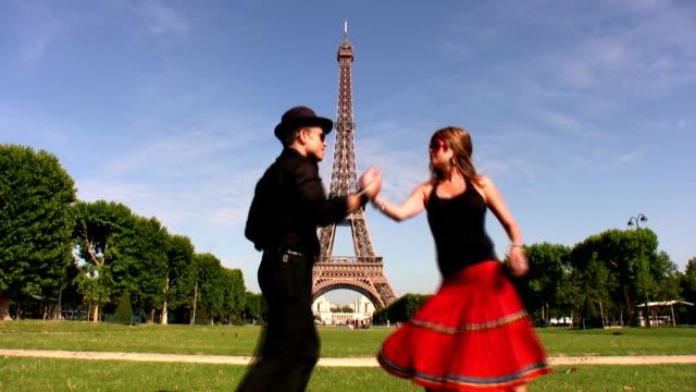 salsa in paris - salsa stock videos & royalty-free footage