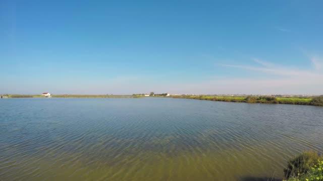 salt evaporation pond - evaporation stock videos & royalty-free footage