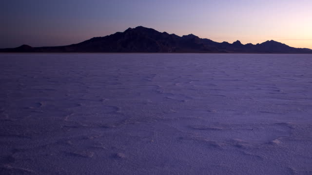 salt flats sunrise - bonneville salt flats stock videos and b-roll footage
