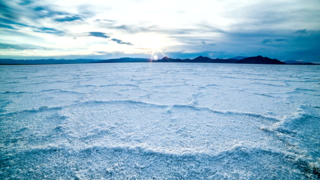 salt flats - bonneville salt flats stock videos and b-roll footage