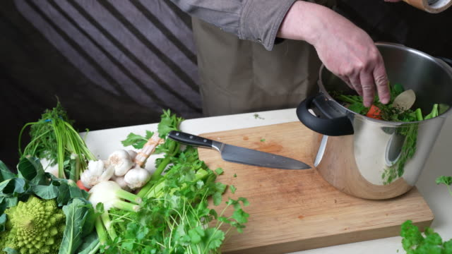 salt for chicken preparation - broth stock videos & royalty-free footage