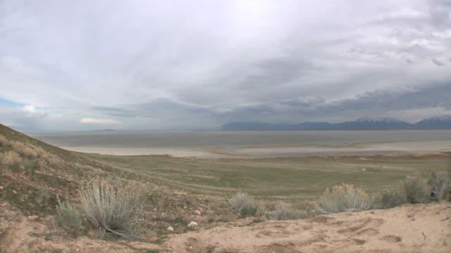salt lake 015 720p24 - wide shot stock videos & royalty-free footage