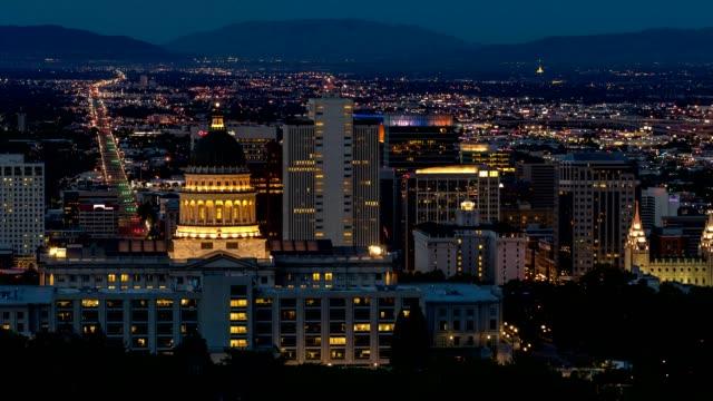 Salt Lake City Capitol Building at Sunrise