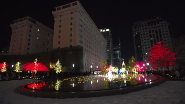Salt Lake City Christmas wide shot