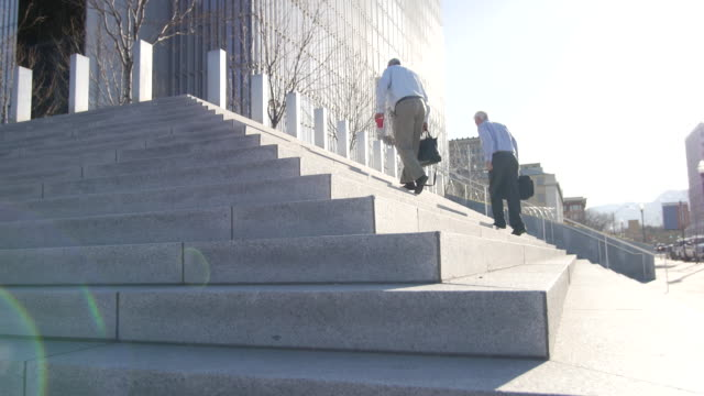 salt lake city federal courthouse rack focus - courthouse stock videos & royalty-free footage