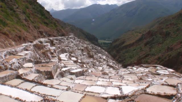 Salt Ponds at Maras, Urubamba, Peru