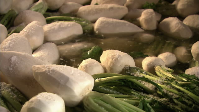 Salting Process Of Pickled Turnips Of Suguki, Kyoto, Japan