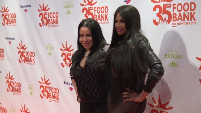 SaltNPepa at 2018 Food Bank For New York City's Can Do Awards Dinner at Cipriani Wall Street on April 17 2018 in New York City