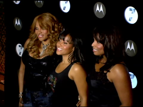 salt-n-pepa at the motorola's seventh anniversary party to benefit toys for tots at american legion in hollywood, california on november 3, 2005. - motorola stock videos & royalty-free footage