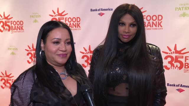 INTERVIEW SaltNPepa on supporting the organization at 2018 Food Bank For New York City's Can Do Awards Dinner at Cipriani Wall Street on April 17...