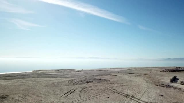 salton sea california - dronebase stock videos and b-roll footage
