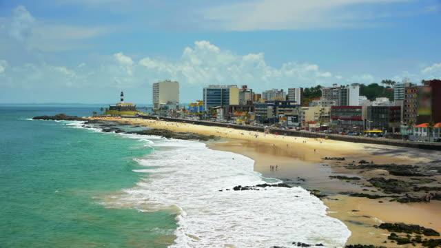 vídeos y material grabado en eventos de stock de salvador-brasil beach - bahía