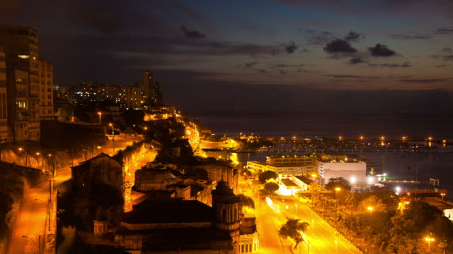 time lapse: salvador de bahia - brazil - bahia state stock videos and b-roll footage
