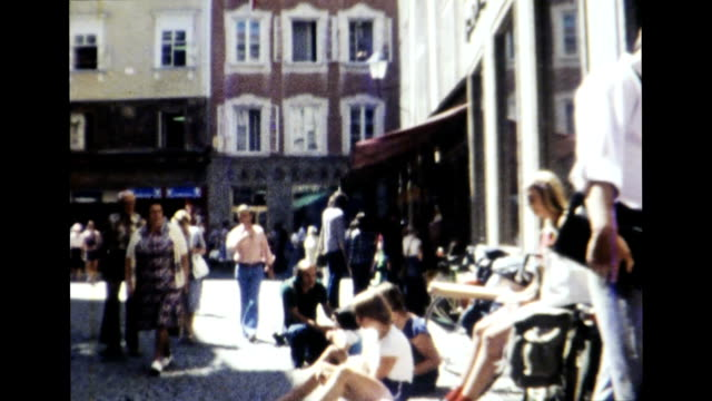 salzburg, austria 1977 - austria stock videos & royalty-free footage