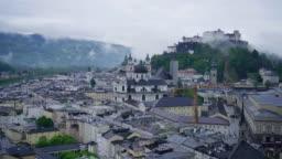 Salzburg panorama, Austria, Europe