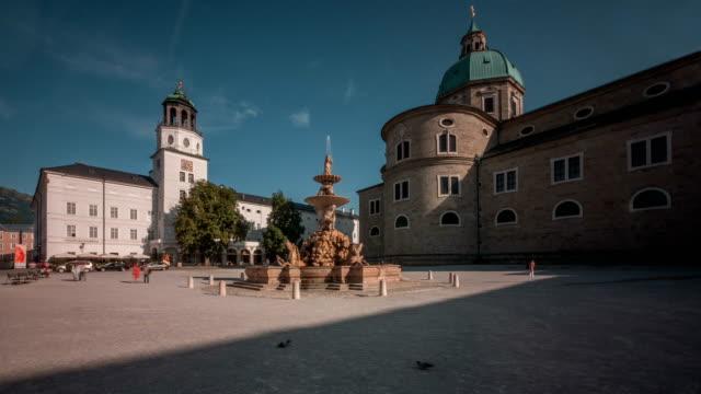 Salzburg Residenz Platz day