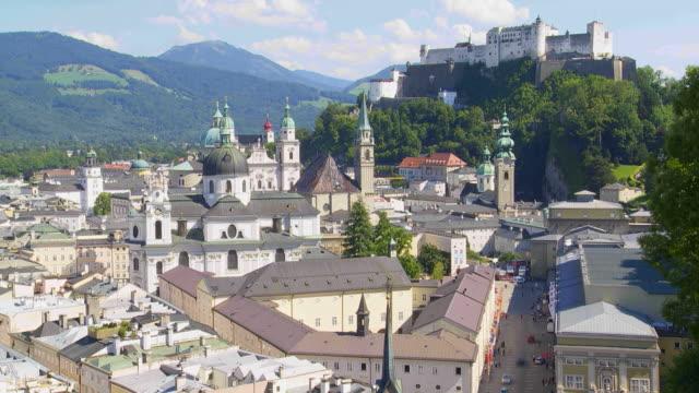 T/L HA Salzburg Skyline with Hohensalzburg Castle