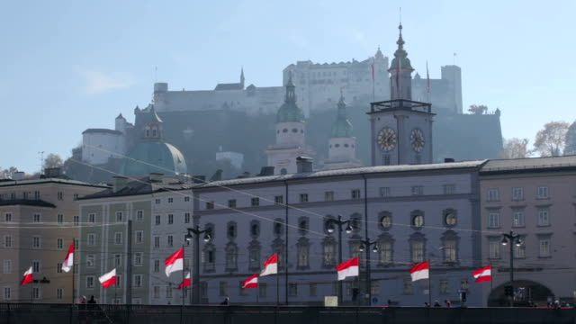 salzburg - traditionally austrian stock videos and b-roll footage