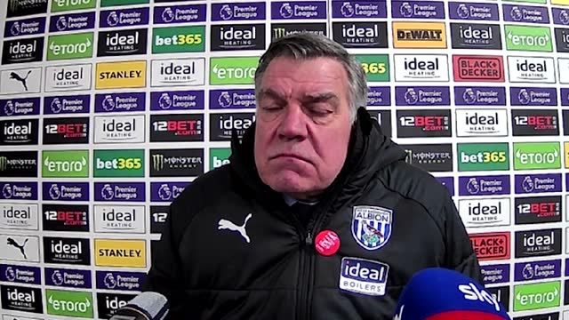 sam allardyce holds a press conference following his side's draw against manchester united at home. mbaye diagne got albion off to a dream after just... - side view stock videos & royalty-free footage