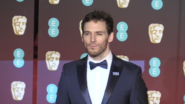 Sam Claflin on the red carpet of the 2018 BAFTA award ceremony in London London UK 18th february 2018