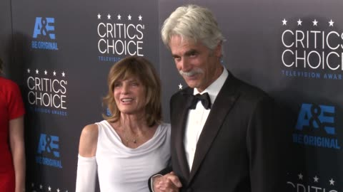 sam elliott and katherine ross at the 2015 critics' choice television awards at the beverly hilton hotel on may 31, 2015 in beverly hills, california. - sam elliott stock videos & royalty-free footage