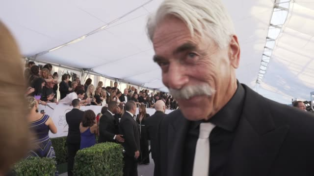sam elliott at the 25th annual screen actors guild awards - social ready content at the shrine auditorium on january 27, 2019 in los angeles,... - sam elliott stock videos & royalty-free footage